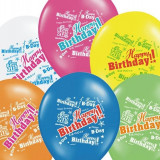 Baloane inscriptionate '' Happy Birthday '', 6buc / set