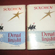Mihail Solohov - Donul linistit - 2 Volume - Roman, Anul publicarii: 1960