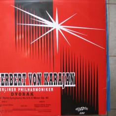 Dvorak - Simfonia nr. 9 Din Lumea - Herbert von Karajan - Muzica Clasica electrecord, VINIL