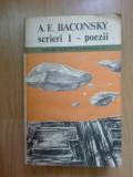 h3 A.E.Baconsky-Scrieri I - Poezii