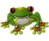 Jibbitz CROCS - bijuterii/accesorii pentru saboti de guma - Tree frog