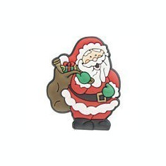 jibbitz CROCS - bijuterii/accesorii pentru saboti de guma -Christmas Santa