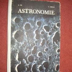 Manual Astronomie - A.Pal, V.Ureche - Carte Astronomie