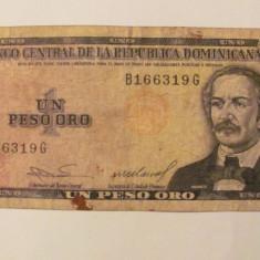 CY - Peso 1984 Republica Dominicana - bancnota america