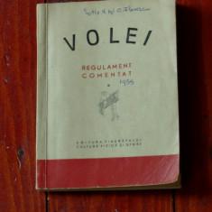 Carte - Volei / regulament comentat - 1955 / 104 pagini !, Alta editura