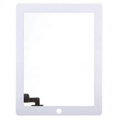 Touchscreen touch screen Digitizer Apple iPad 2 A1395 A1396 cu adeziv Alb Geam Sticla Tableta