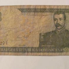 CY - 10 pesos 2001 Republica Dominicana - bancnota america