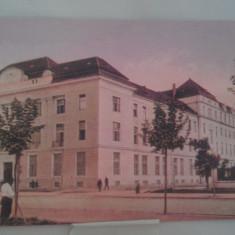 Vedere Timisoara Palatul Postelor la inceputul sec XX - Carte Postala Banat 1904-1918, Necirculata, Fotografie
