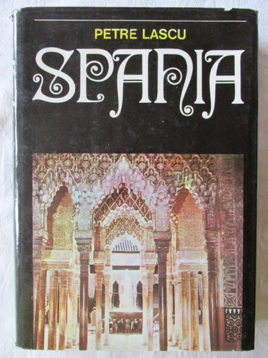 """""""SPANIA. Insemnari de calatorie"""", Petre Lascu, 1976. Carte noua foto mare"""