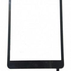 Touchscreen touch screen Digitizer Apple iPad Mini A1432 A1455 A1454 cu buton home si cip IC Negru Geam Sticla Tableta