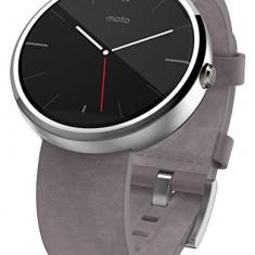 Motorola Moto 360 - Stone | Se aduce la comanda din SUA, 10 zile lucratoare | a53007 - Smartwatch