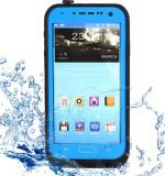 Toc subacvatic impermeabil cu prelungitor casti Samsung Galaxy S4 i9500 + folie