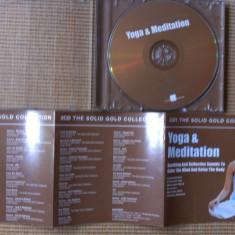 Yoga and meditation disc cd muzica ambientala chill lounge relaxare meditatie