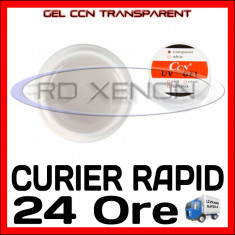GEL UV TRANSPARENT (CLEAR) CCN 15ML - CONSTRUCTIE MANICHIURA, UNGHII FALSE GEL, Gel de constructie, Sina