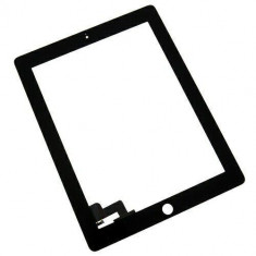 Touchscreen touch screen Digitizer Apple iPad 2 A1395 A1396 cu adeziv Negru Geam Sticla Tableta