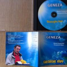 Gheorghe iovu geneza album muzica terapeutica ambientala relaxare cd disc - Muzica Ambientala