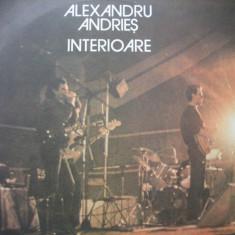 Alexandru Andries - Interioare, vinil - Muzica Folk Altele
