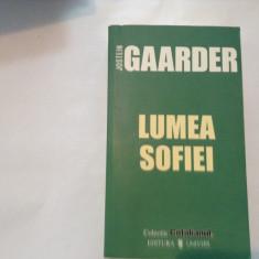 Lumea Sofiei-Jostein Gaarder, R19, RF9/2 - Filosofie