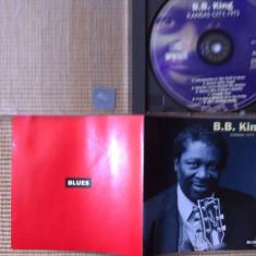 B B king kansas city 1972 disc cd muzica Rhythm Blues chicago blues piano - Muzica Blues