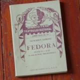 Carte - Biblioteca teatrului national - Fedora de Victorien Sardou - 128 pagini - Carte veche