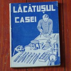 Carte editie veche - Lacatusul casei - Ed. Gorjan / 88 pagini !!! - Carti Industrie alimentara