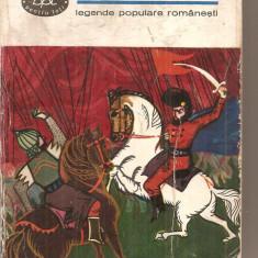 (C6157) DE LA DRAGOS LA CUZA-VODA. LEGENDE POPULARE ROMANESTI - Roman istoric