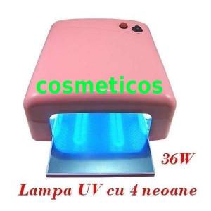Kit unghii gel / unghii false- lampa UV, freza,geluri +GHID APLICARE | kit extra