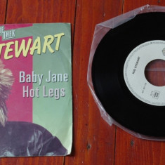 Disc vinil ( vinyl , pick-up ) - Rod Stewart - Baby Jane / Hot Legs !