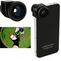 LENTILE TELEFON Iphone4 4S 5. Lentile camera foto. Fish Eye, Macro, Wide Angle