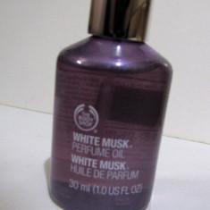 The body shop-WHITE MUSK- perfume oil (ulei parfumat) 30ml - Parfum femeie