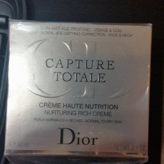 Crema Christian Dior Capture Totale Haute Nutrition Nurturing Rich