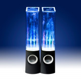 Boxe audio pc water dancing - Boxe PC, Canale : 2.1, 0-40W, Integrata