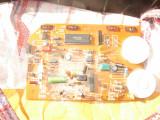 Placa cu componente electronice tranzistori diode led