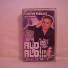 Vand caseta audio Adrian Minune-Alo,Alo!!!originala,raritate!