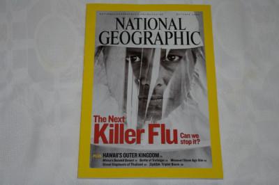 National Geographic - october 2005 - The next killer flu foto