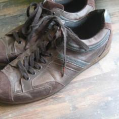 Pantofi sport Hugo Boss - Pantof barbat Hugo Boss, Marime: 43, Culoare: Maro, Piele naturala