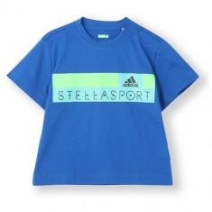 TRICOU ADIDAS GRAPHIC TEE STELLASPORT COD S21221 - Tricou dama Adidas, Marime: XS, S, M, Culoare: Albastru