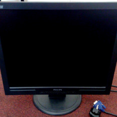 """Philips 170S (HNS7170T) 17"""" TFT LCD Flat Screen Monitor Black"""