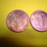 Doua Monede de 1 leu 1992 si 1993 - Moneda Romania