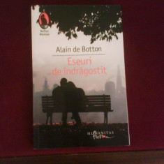 Alain de Botton Eseuri de indragostit, Humanitas