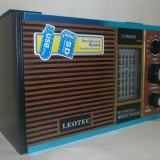 Radio retro cu usb, sd, mp3 cu acumulator incarcare baterie si priza - Aparat radio, Digital, 0-40 W