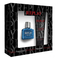 Replay Essential For Him Set 30+100 pentru barbati - Set parfum