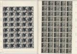 1949, LP 250, 40 TIMBRE LENIN SI LP 259, 96 TIMBRE STALIN,PRIMA ZI - LOT 1 RO