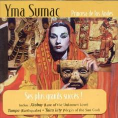 YMA SUMAC PRINCESA DE LOS ANDES (CD) - Muzica Chillout