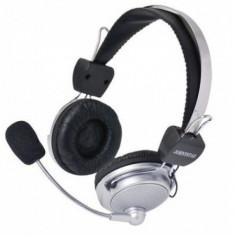 Casti pc hi-fi cu microfon si volum - Casca PC, Casti cu microfon, Analog