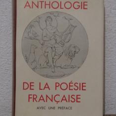 ANDRE GIDE-ANTHOLOGIE DE LA POESIE FRANCAISE - Carte de lux
