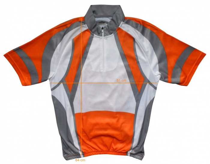 Tricou bicicleta ciclism CRANE impecabil (M) cod-171472 foto mare