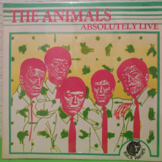 THE ANIMALS - ABSOLUTELY LIVE / VINIL / VINYL LP / DISC DOCUMENT - Muzica Rock electrecord