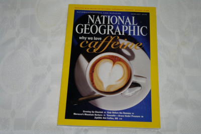 National Geographic - january 2005 - Why we love caffeine foto