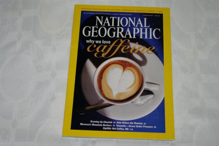 National Geographic - january 2005 - Why we love caffeine